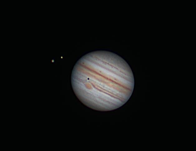 Jupiter am 6. September 2021 um 1:45 Uhr (korrigierte Version)