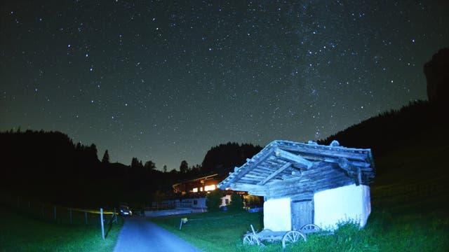 Sternenhimmel über Mayrberg