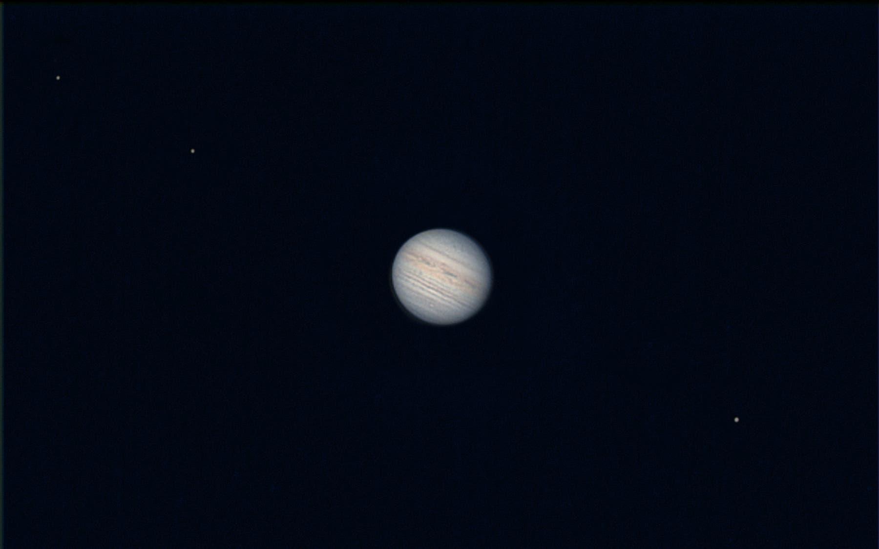 Jupiter mit Europa, Io und Ganymed