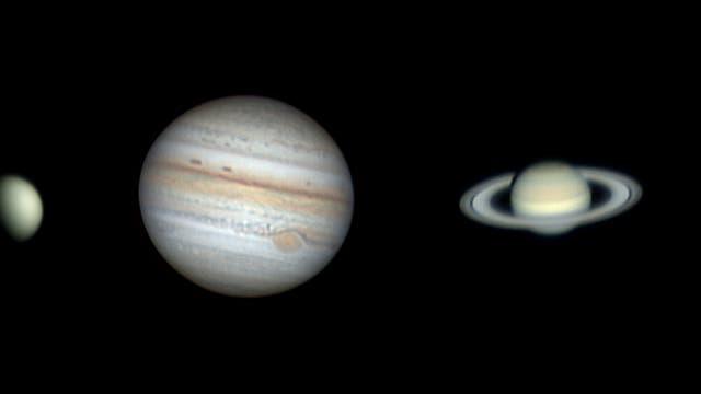 Planeten Ende August / Anfang September 2021
