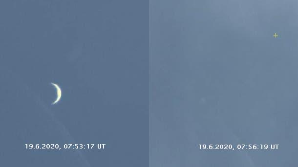 Venusbedeckung am 19. Juni 2020