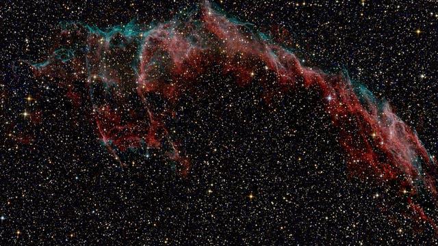 NGC 6992/6995, die Knochenhand