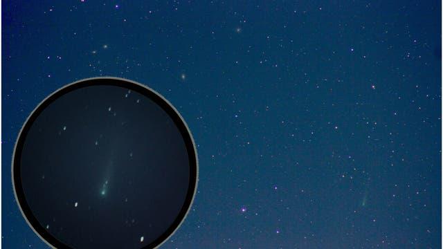 Komet ISON am 26.10.2013