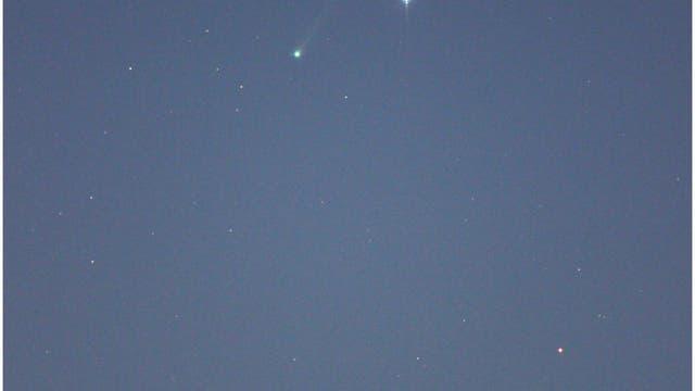 Komet ISON mit Spica