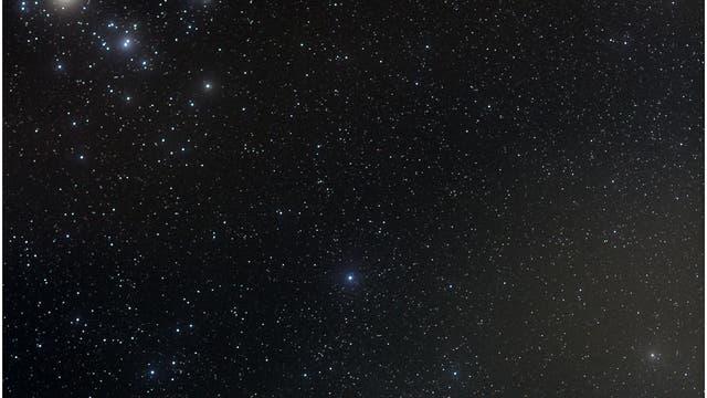 Komet Lovejoy im Sternbild Stier