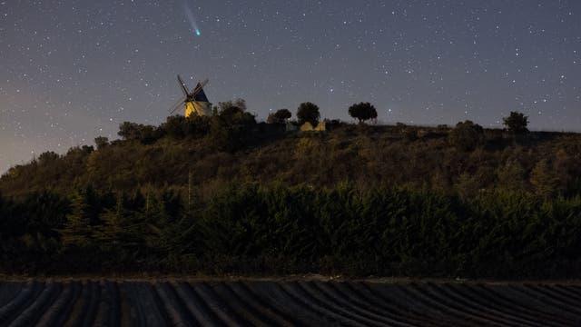 Komet Lovejoy aus Südfrankreich