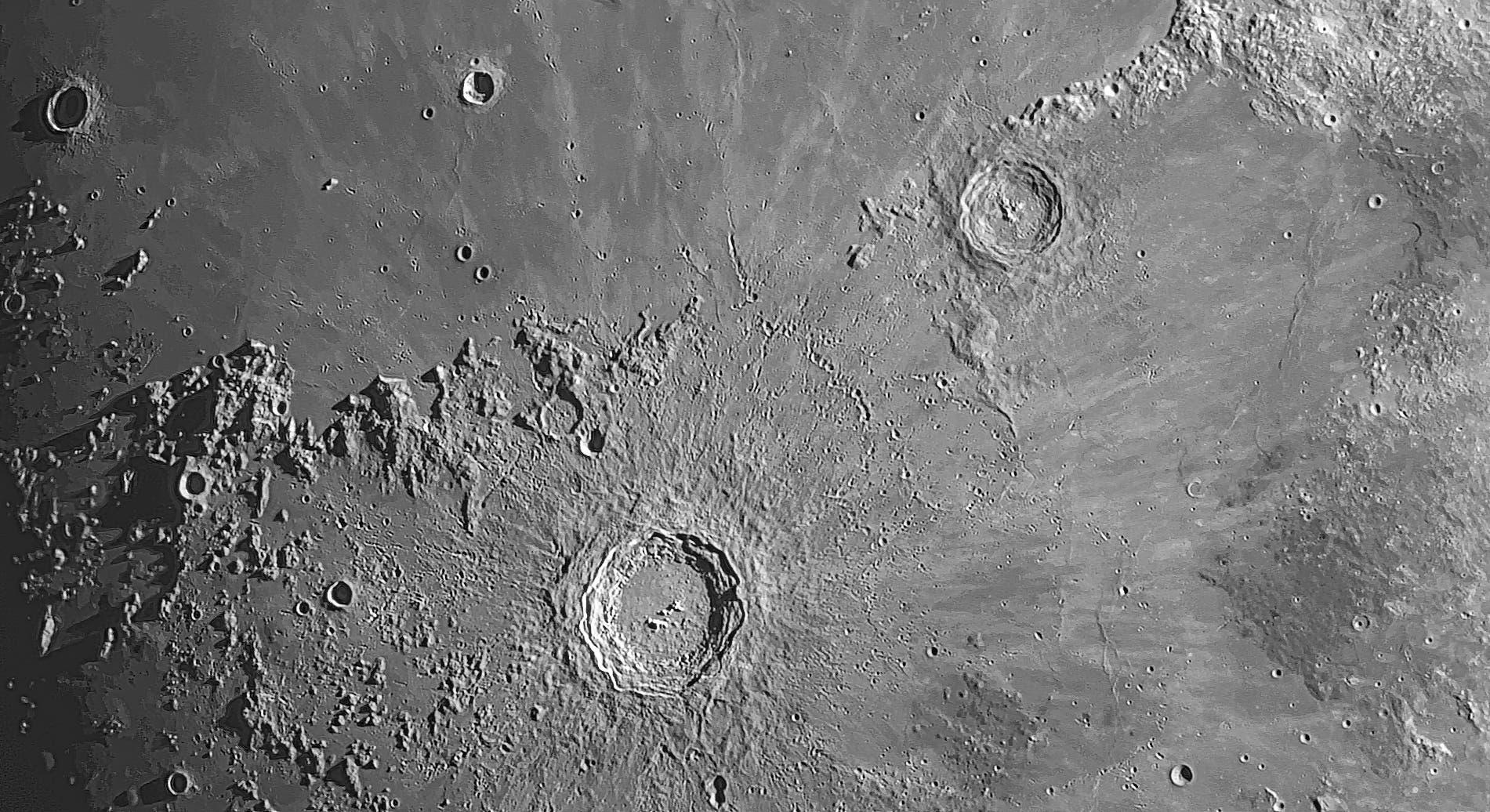 Der Mond am 23. März 2021 (1)