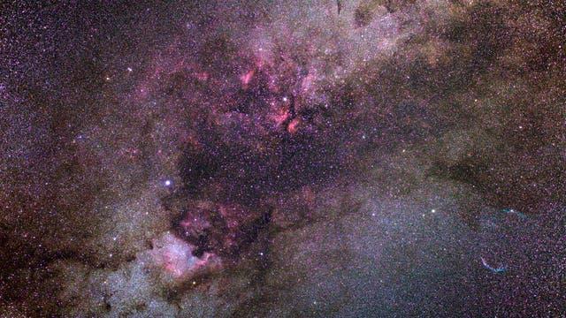 Landschaften im Sternbild Schwan
