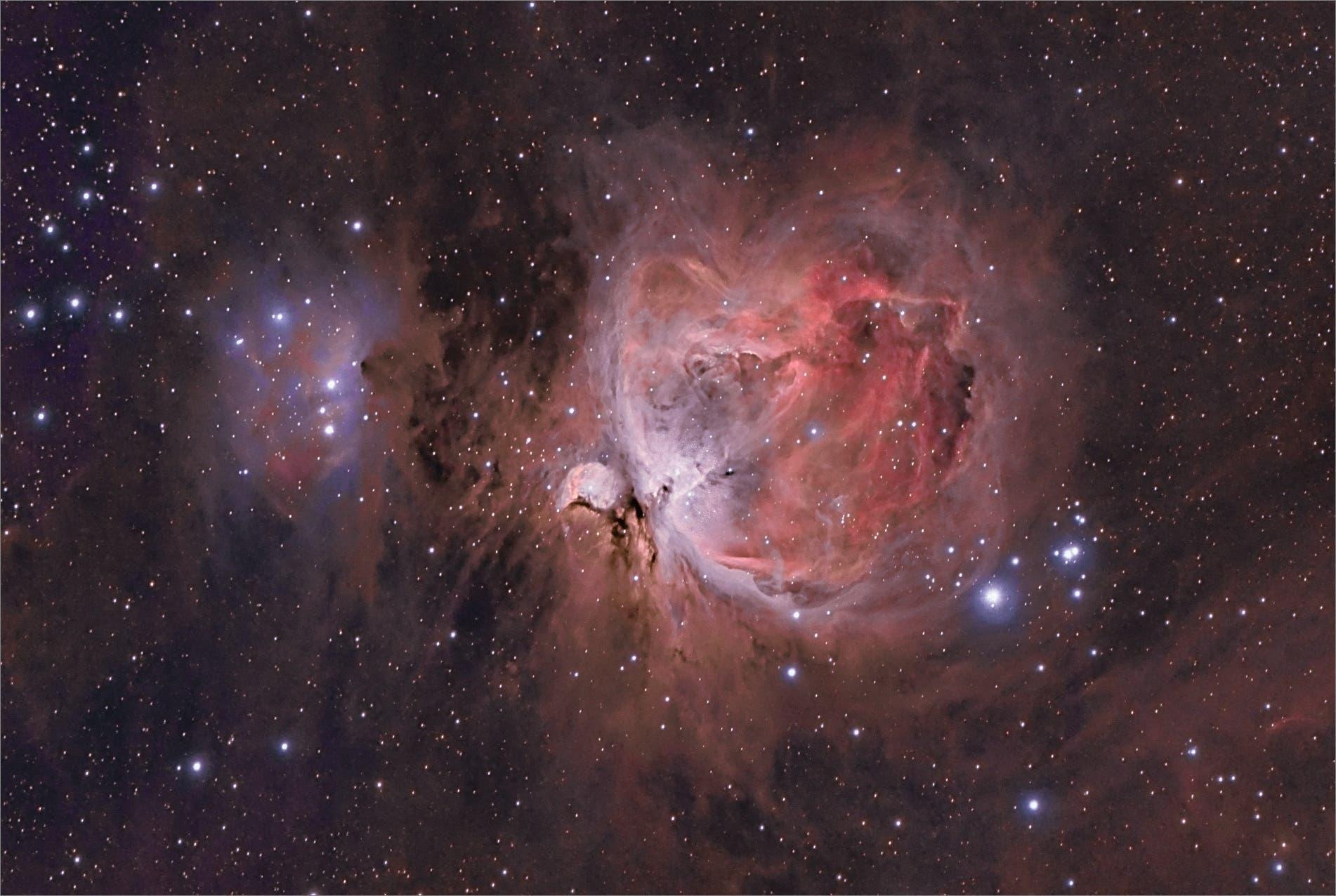 Der Orionnebel Messier 42