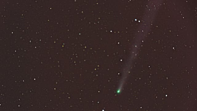 Komet Lovejoy vs. Sturmtief Xaver