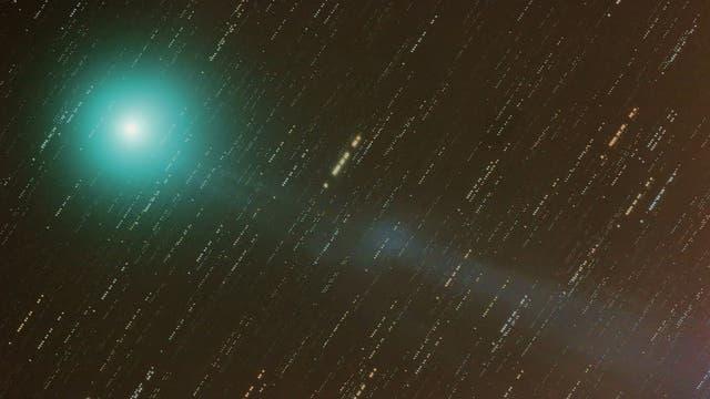 Komet Lovejoy C/2014 Q2 mit Schweifabriss