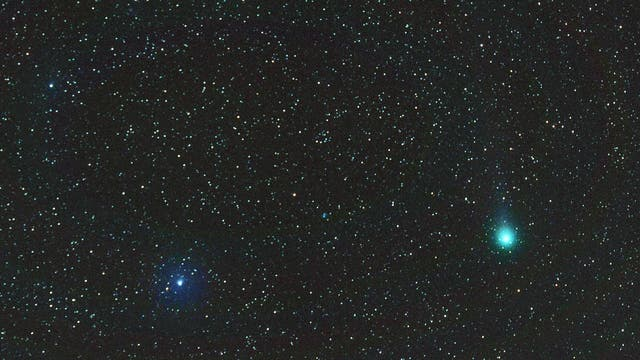 Komet Lovejoy am 22.2.2015