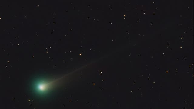 Komet Lovejoy am 17. November 2013