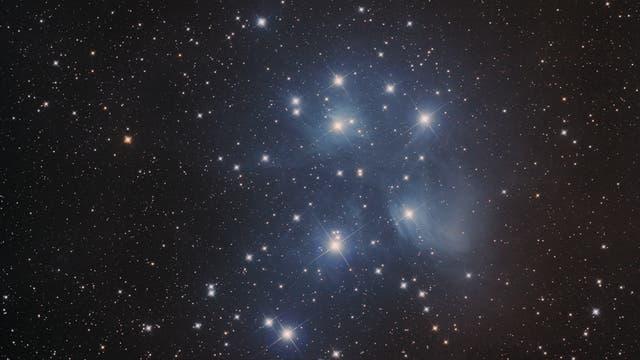 M 45 Plejaden mit U 2838