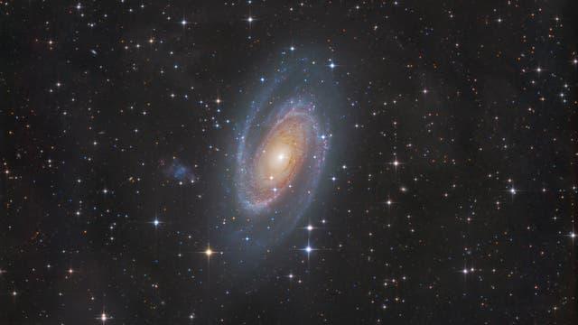 Messier 81 + Holmberg IX