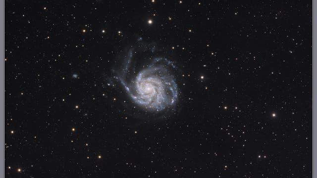 Feuerrad-Galaxie