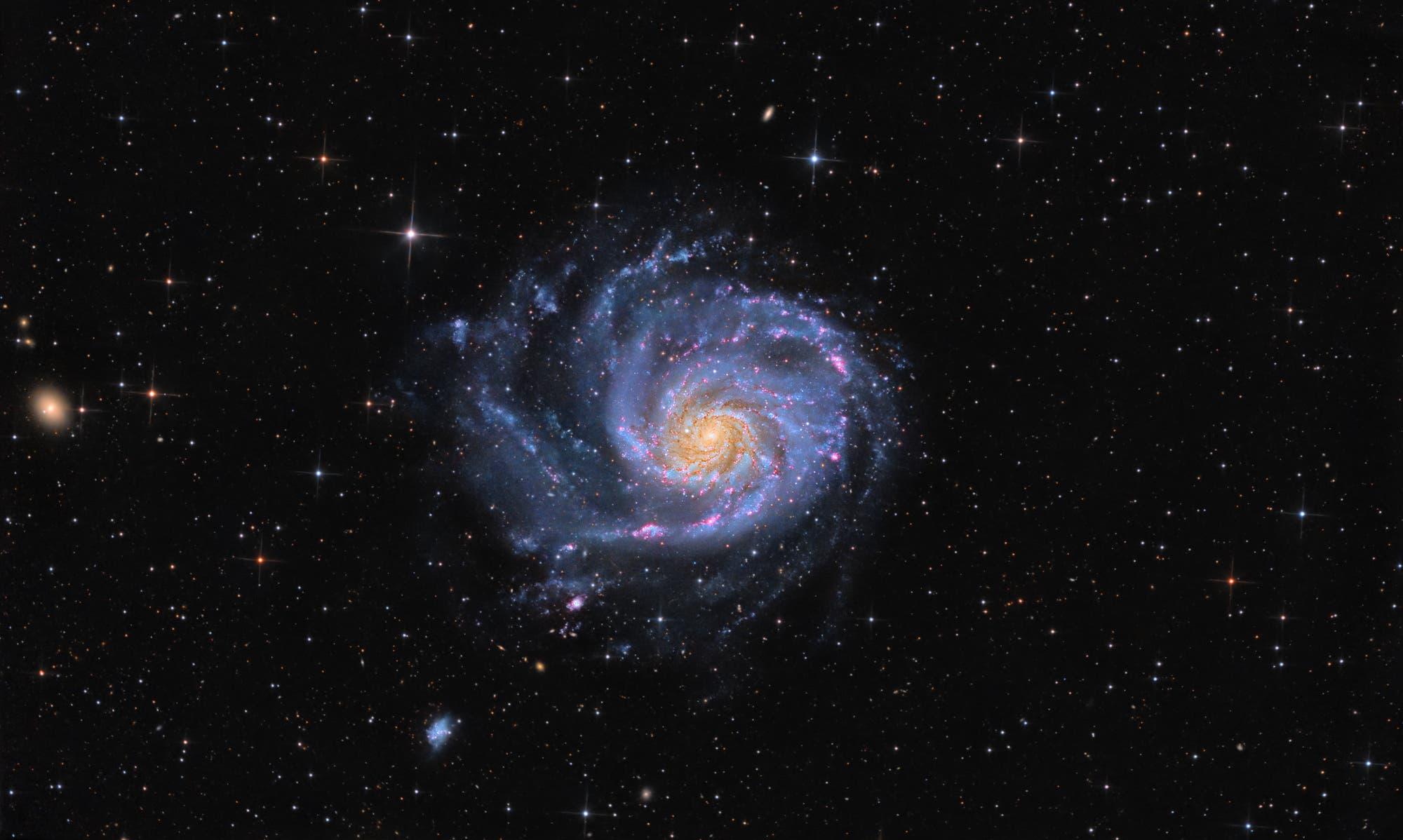Feuerrad-Galaxie, Messier 101