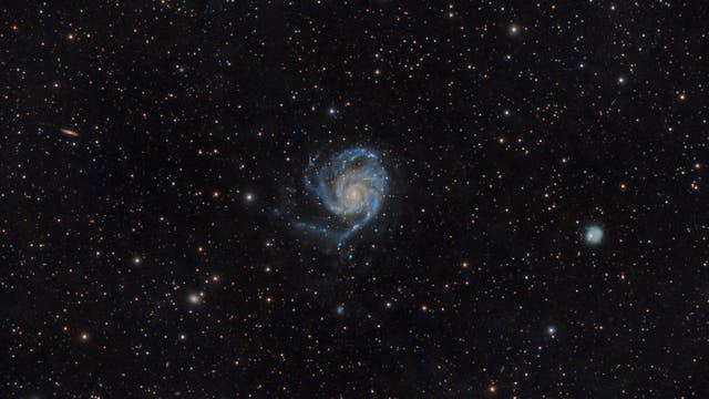 Messier 101 - Feuerrad-Galaxie