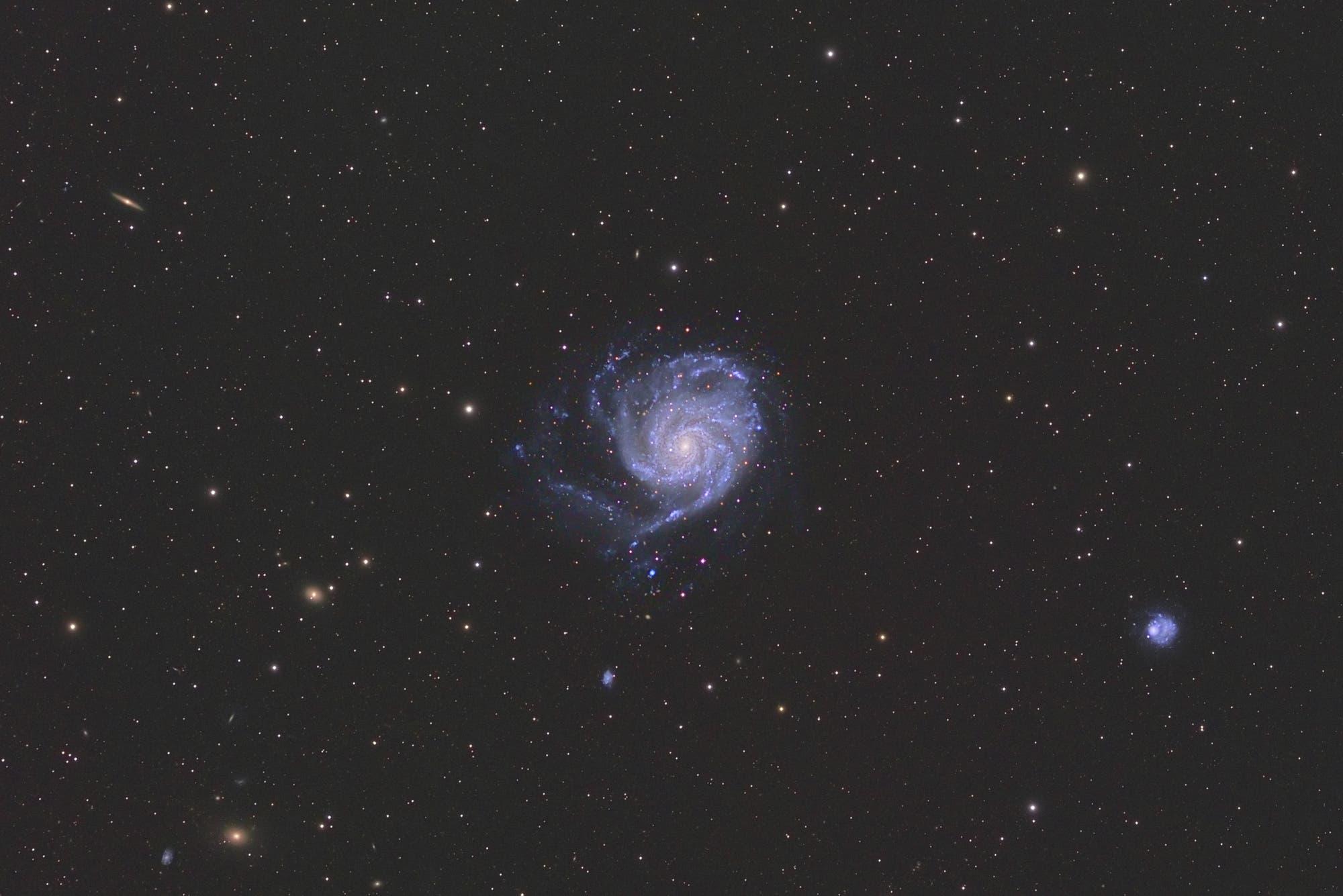 M101, die Feuerrad-Galaxie