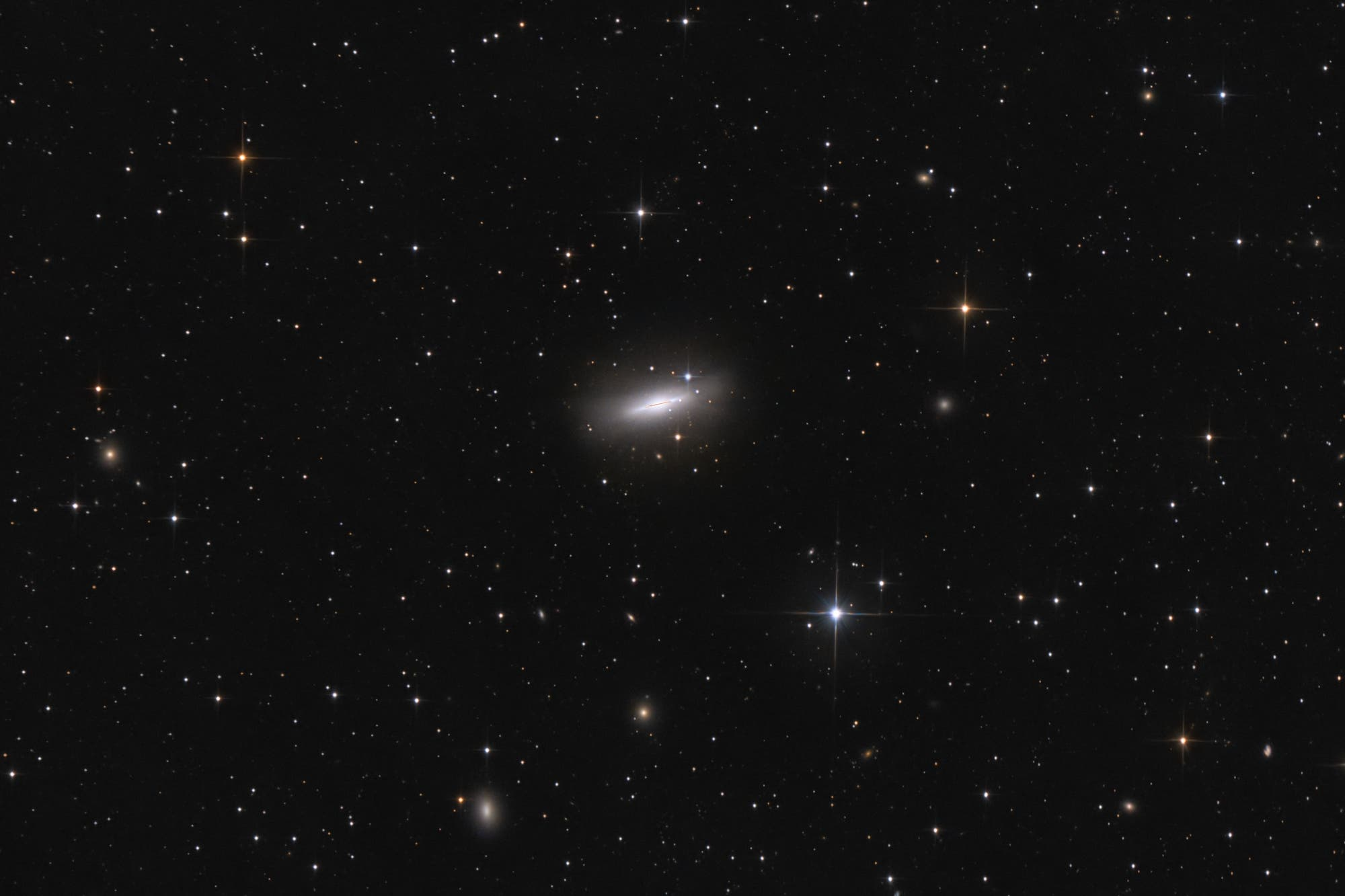 Messier 102, Spindelgalaxie