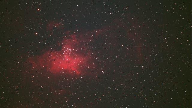 Sternentstehungsgebiet M 16 (Adlernebel) in Serpens Cauda
