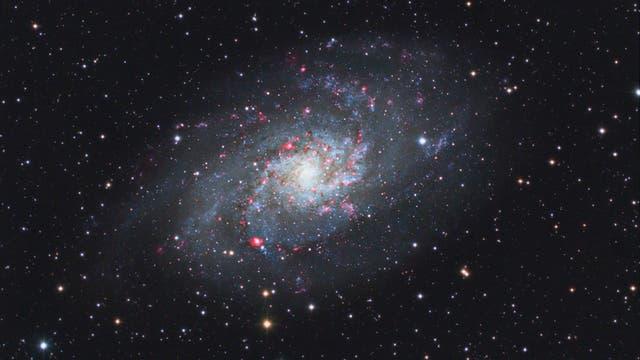 M 33, Triangulum-Galaxie