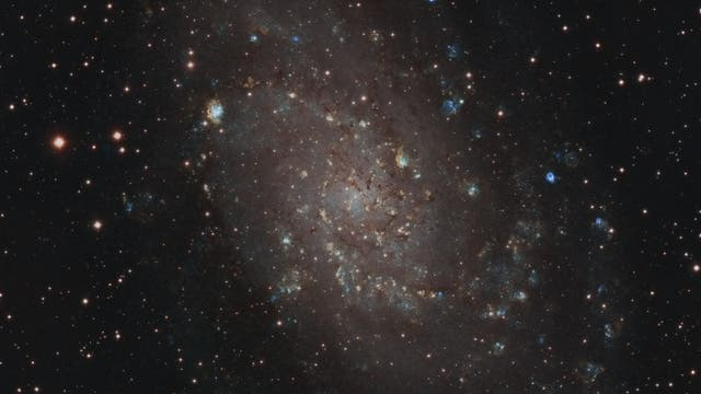 M 33 in Schmalband