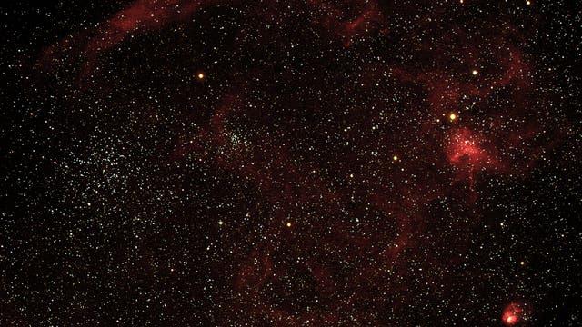 M38 mit Begleitnebel IC417 und NGC1931