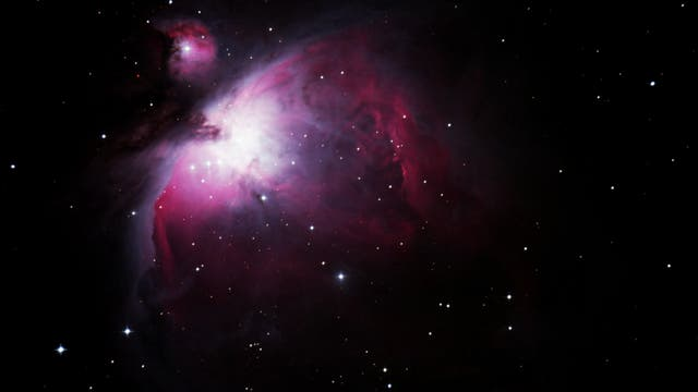 M 42 + M 43, Orionnebel