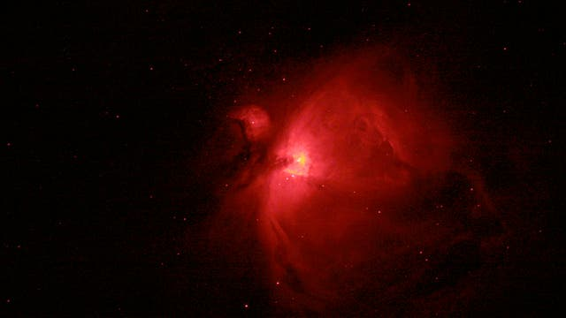 Orionnebel in H-alpha