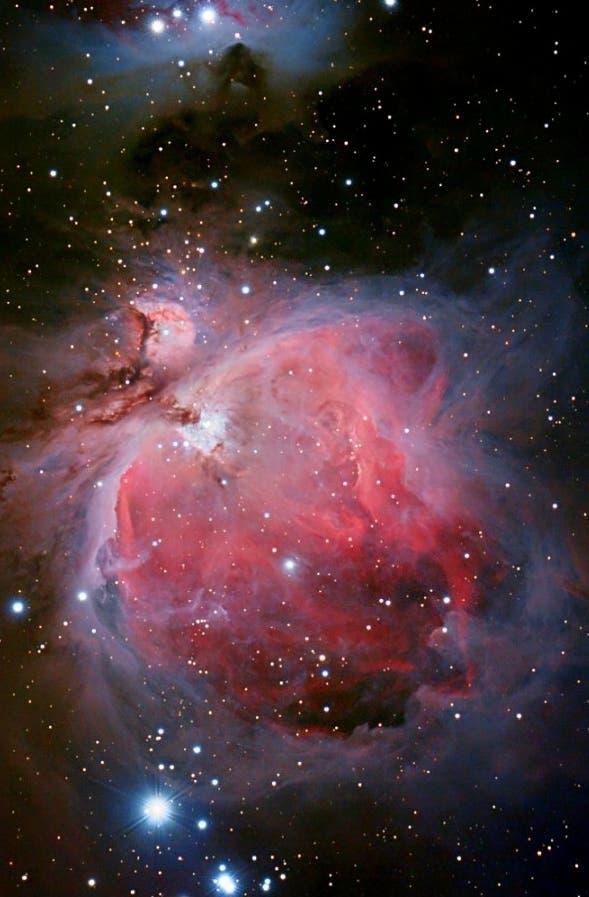 Messier 42, der Orionnebel