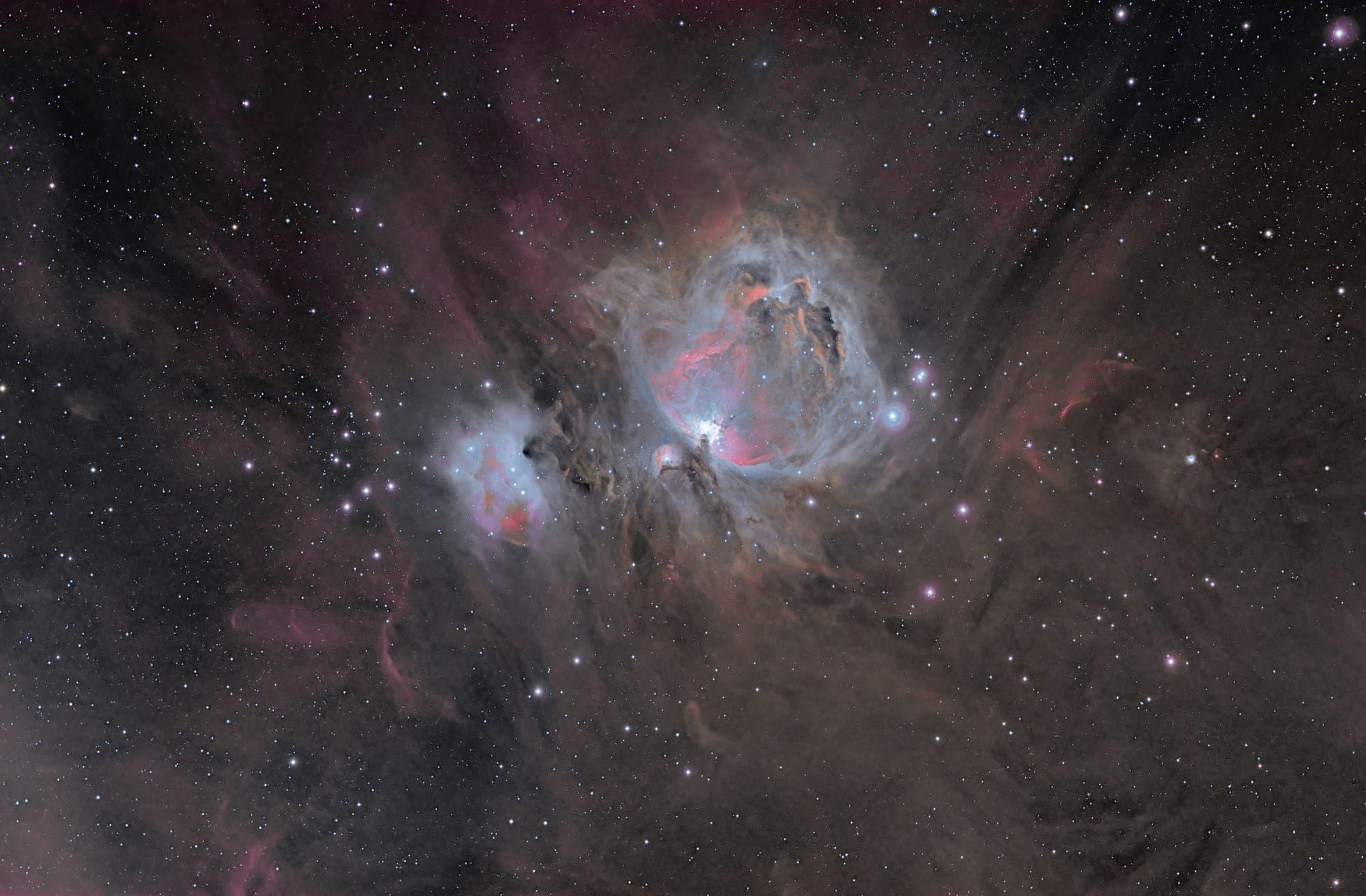 Großer Orionnebel Weitwinkel