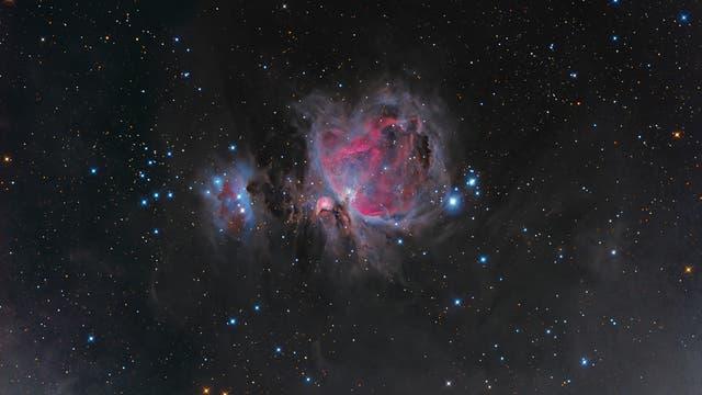 Orionnebel - 11k Chip mit C11-Hyperstar