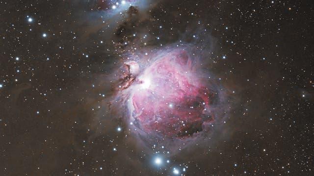 M 42/43 Orionnebel mit NGC 1977 Running Man