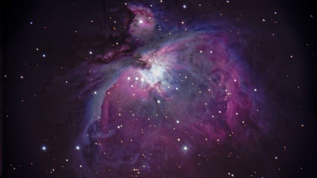 Messier 42 Orionnebel unter Stadtbedingungen