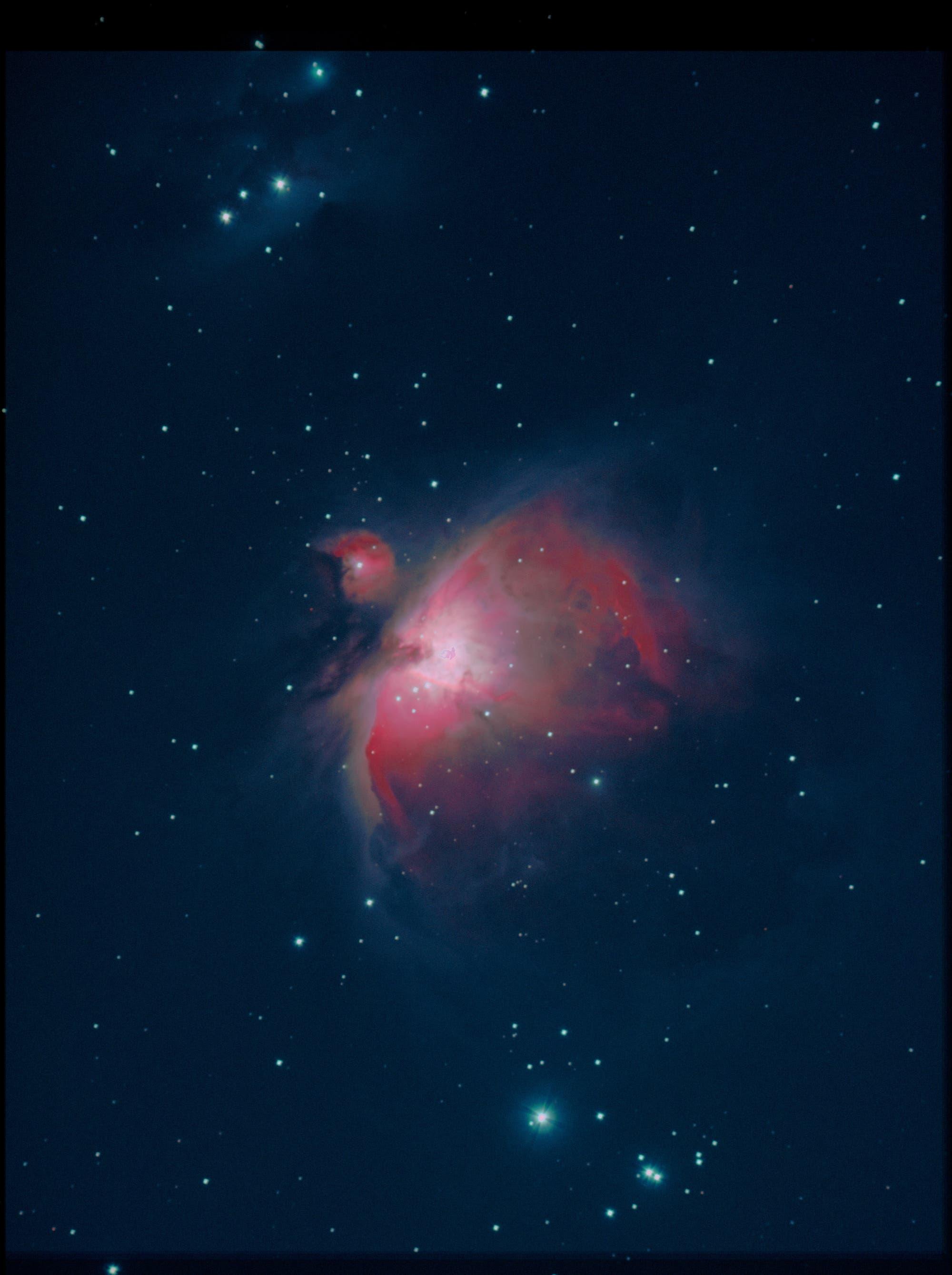Orionnebel und Running-Man-Nebel