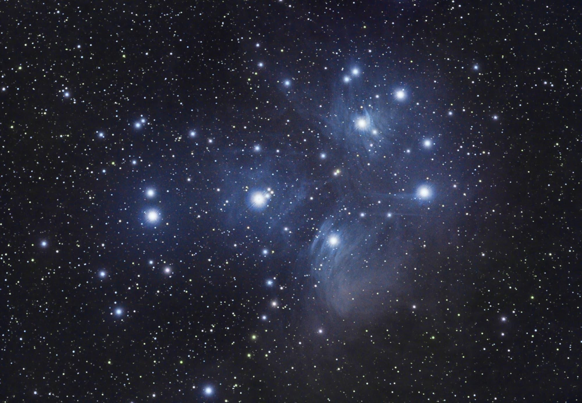 M45 - Plejaden - First Guide