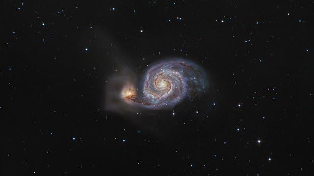 Die Whirlpool-Galaxie M 51