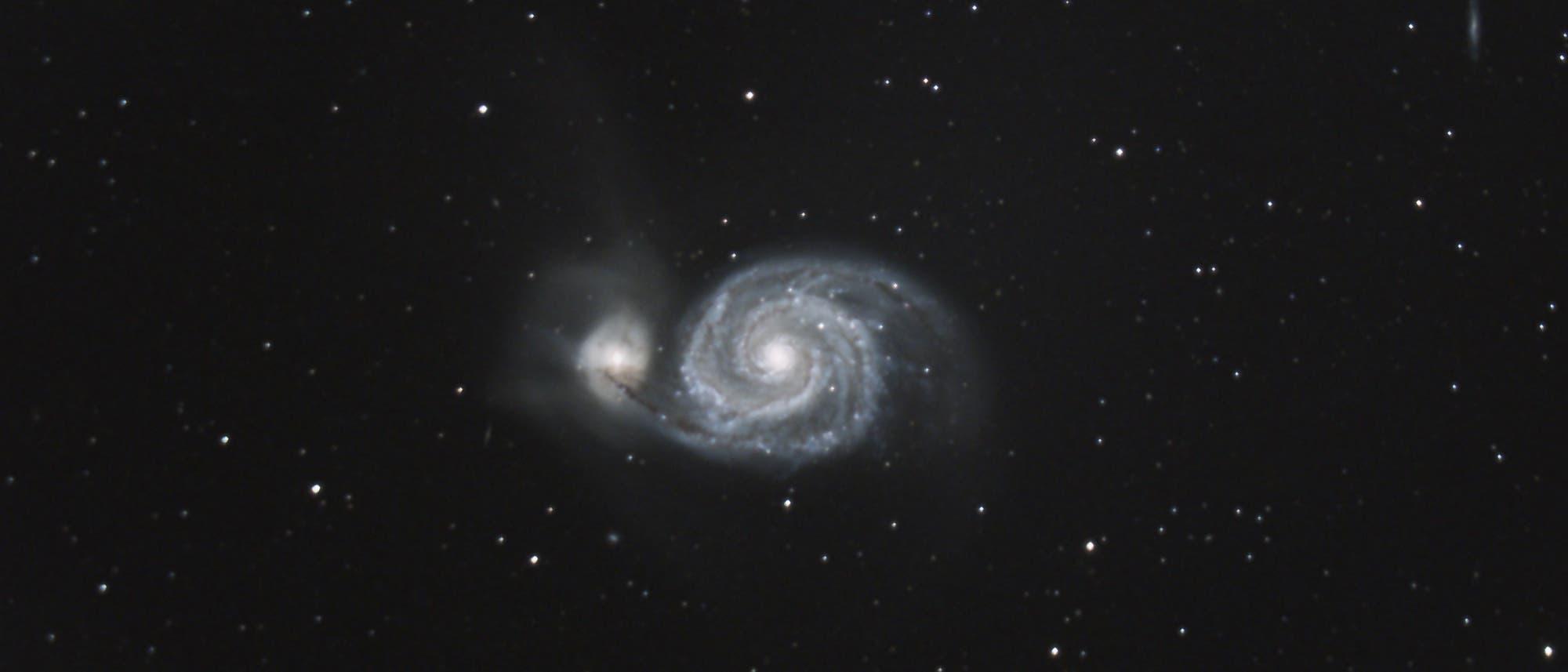 Messier 51 - Whirlpool-Galaxie