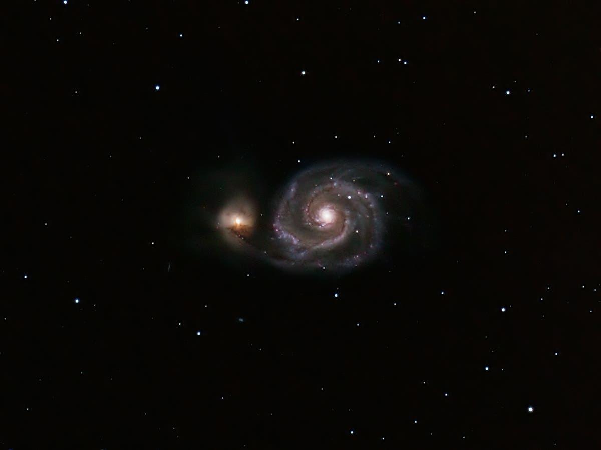 Die Whirlpool-Galaxie