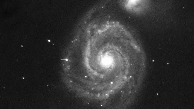 Supernova in M 51