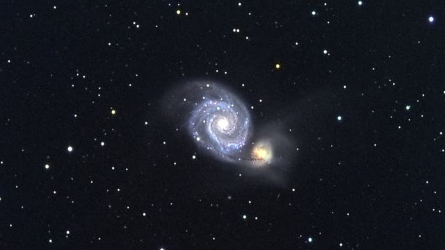 Supernova in M 51 - der zweite Versuch