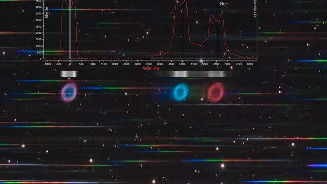 Ringnebel - Spektrum