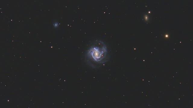 Messier 61 mit Supernova