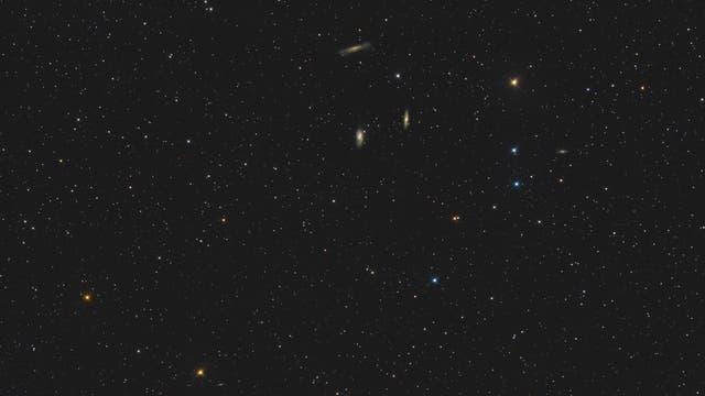 M65, M66 und NGC 3628