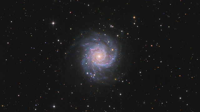 Messier 74 - Phantom-Galaxie