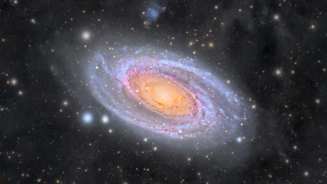 Messier 81 - Eine Galaxie gebadet in galaktischem Zirrus