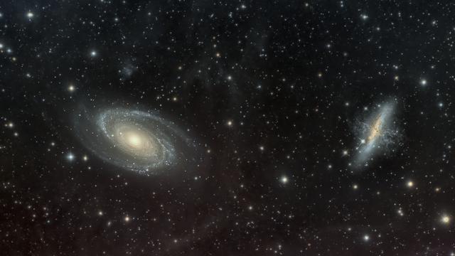 Messier 81, Messier 82
