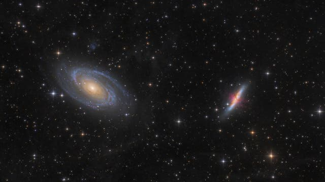 Messier 81 & 82