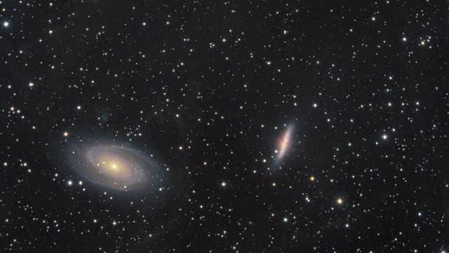 Galaktischer Cirrus um M 81 und M 82